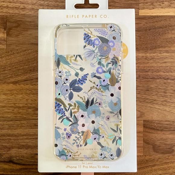 Rifle Paper Co. iPhone 11 Pro Max Blue Floral Case